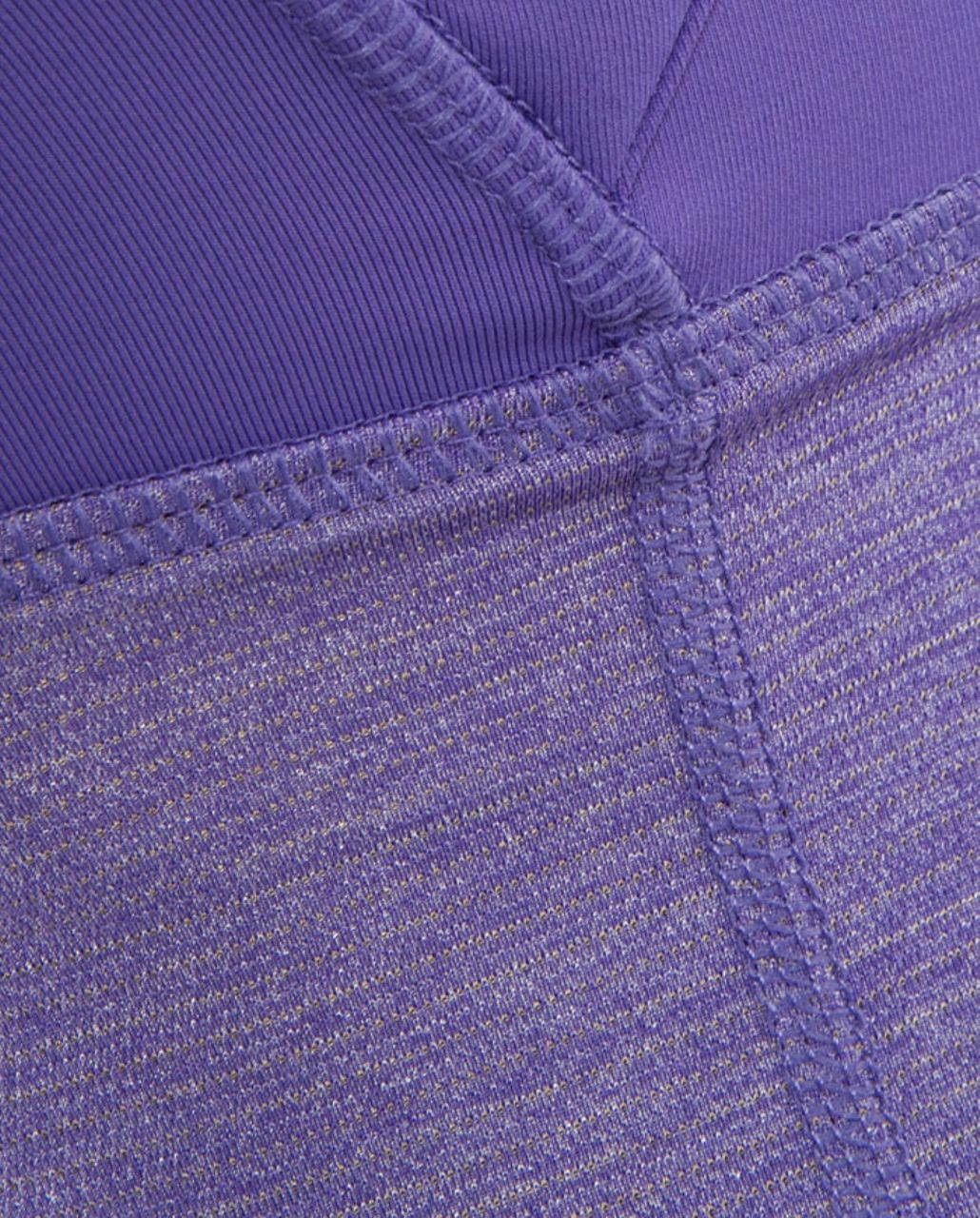 Lululemon Run:  Your Heart Out Tank - Heathered Persian Purple /  Persian Purple