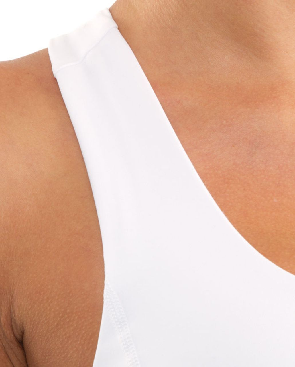 Lululemon Run:  Your Heart Out Tank - Heathered Blurred Grey /  White