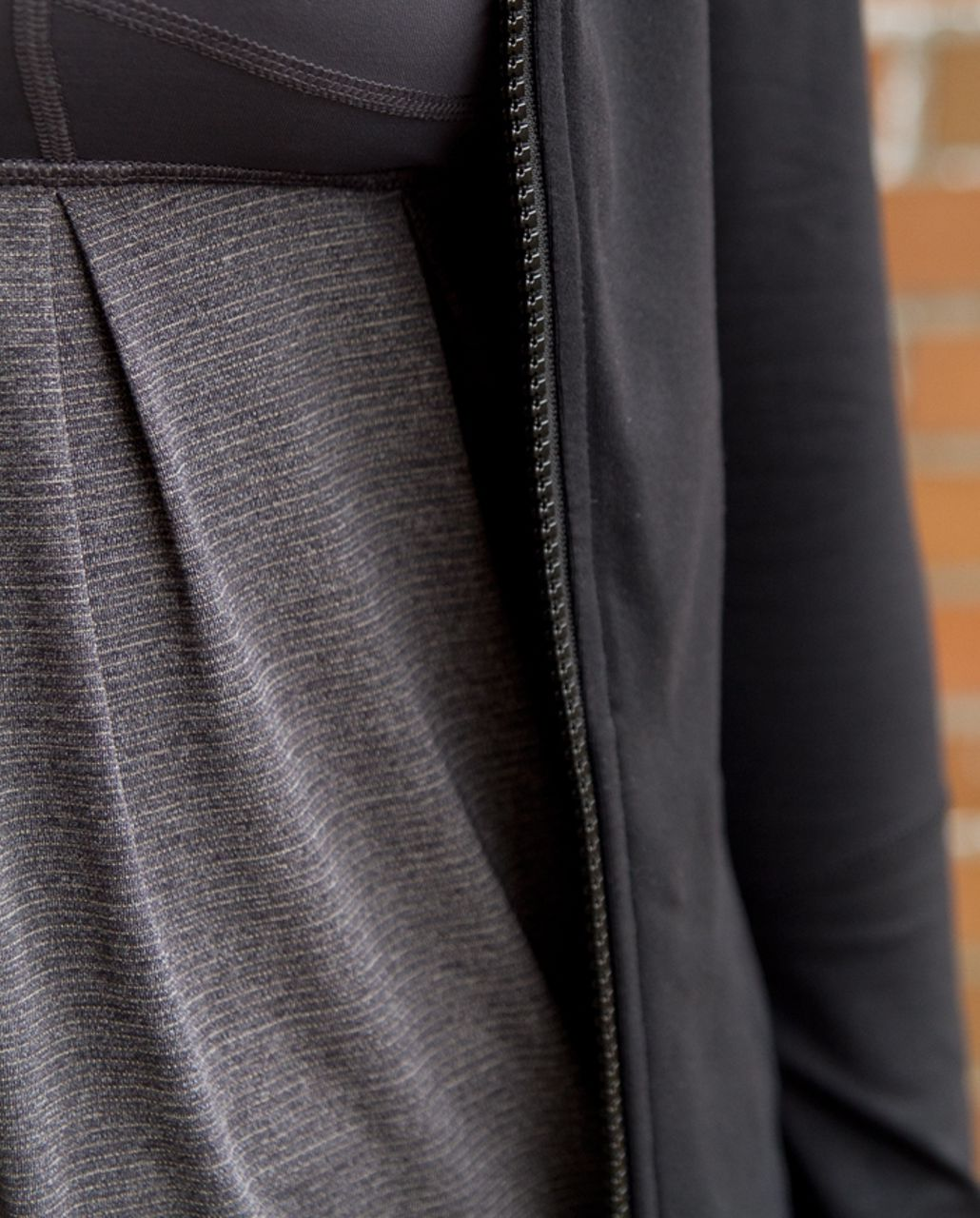 Lululemon Run:  Your Heart Out Tank - Heathered Black /  Black