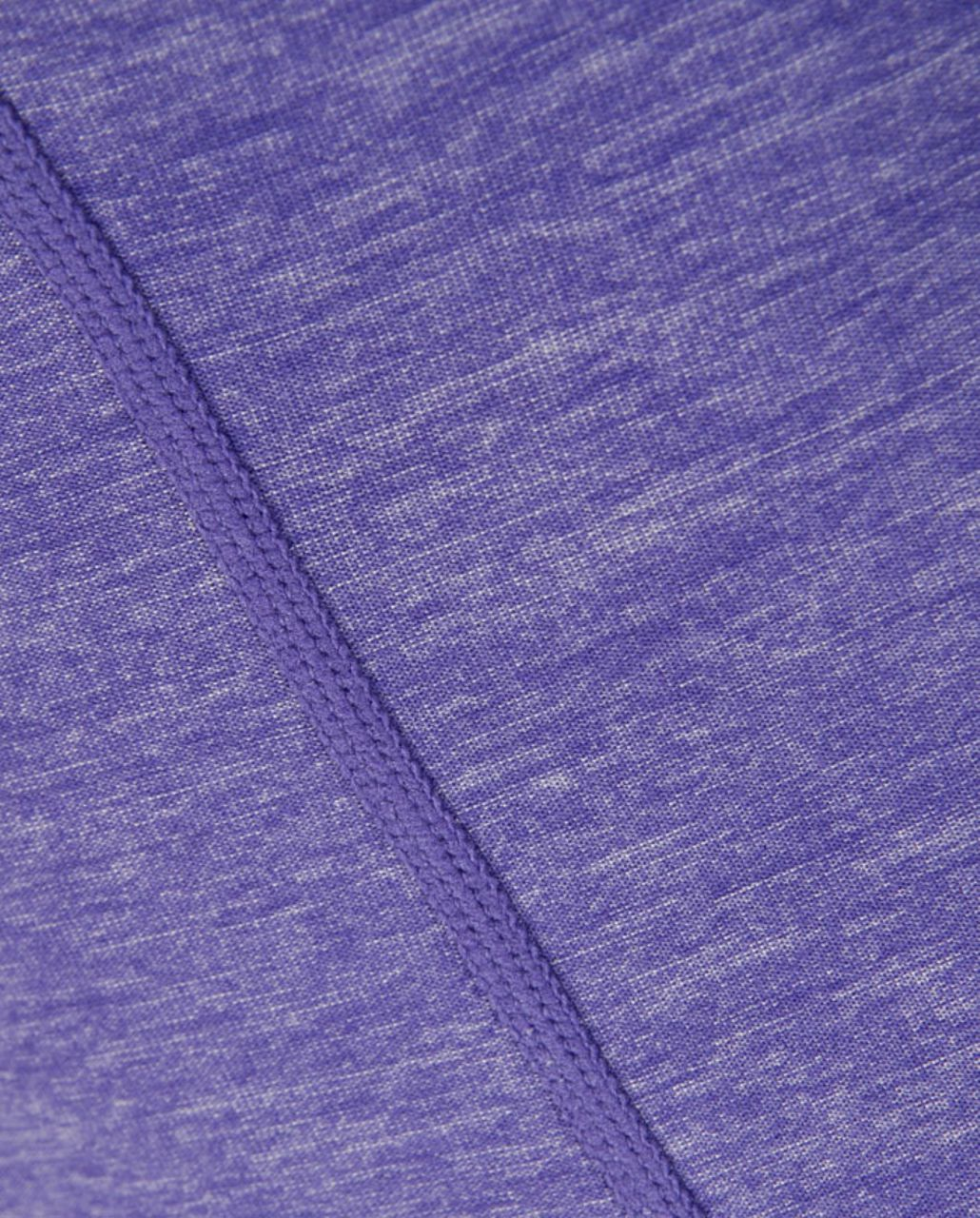 Lululemon Run Free Tank - Heathered Persian Purple