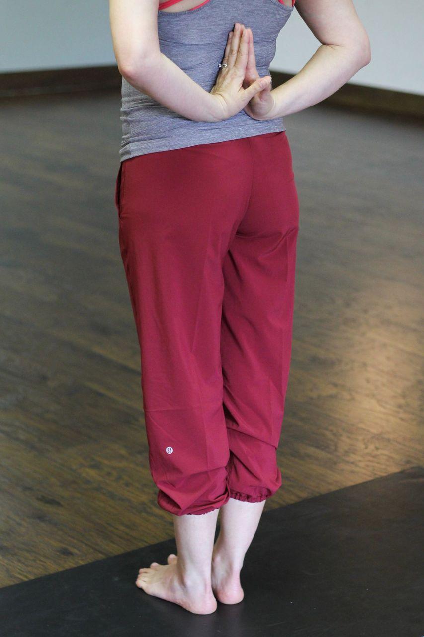 Lululemon Om Pant - Rosewood