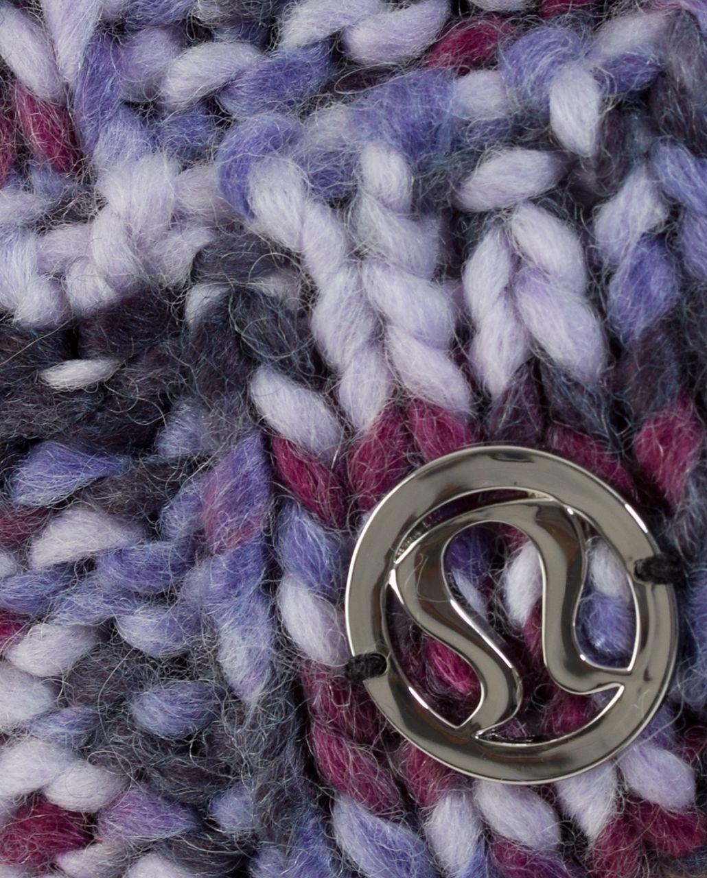 Lululemon Toasty Toque - Black Swan Lilac Persian Purple Plum Space Dye