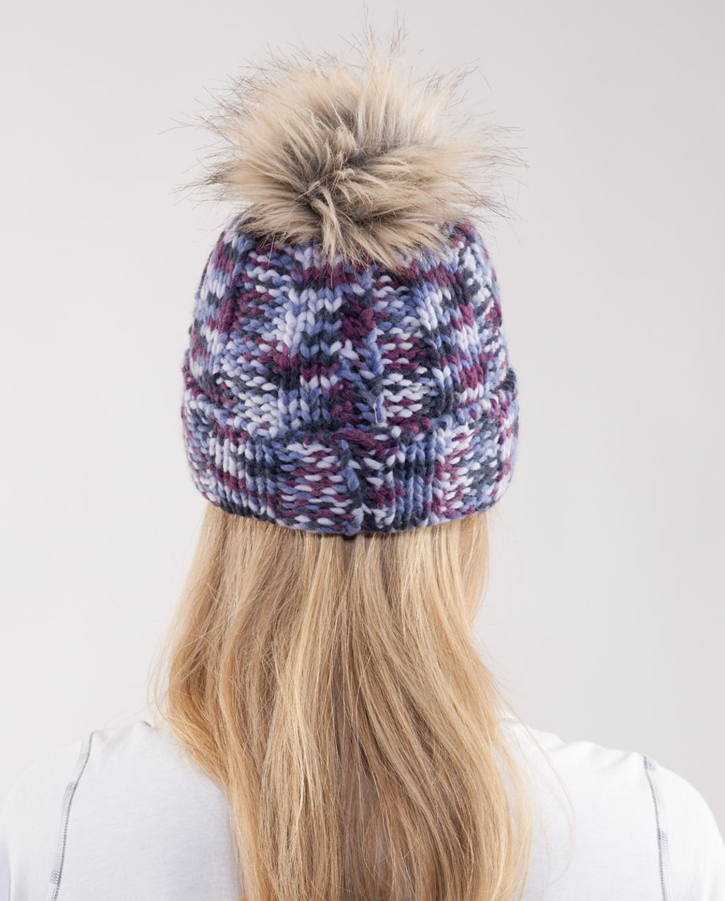 Lululemon Toasty Toque - Black Swan Lilac Persian Purple Plum Space Dye