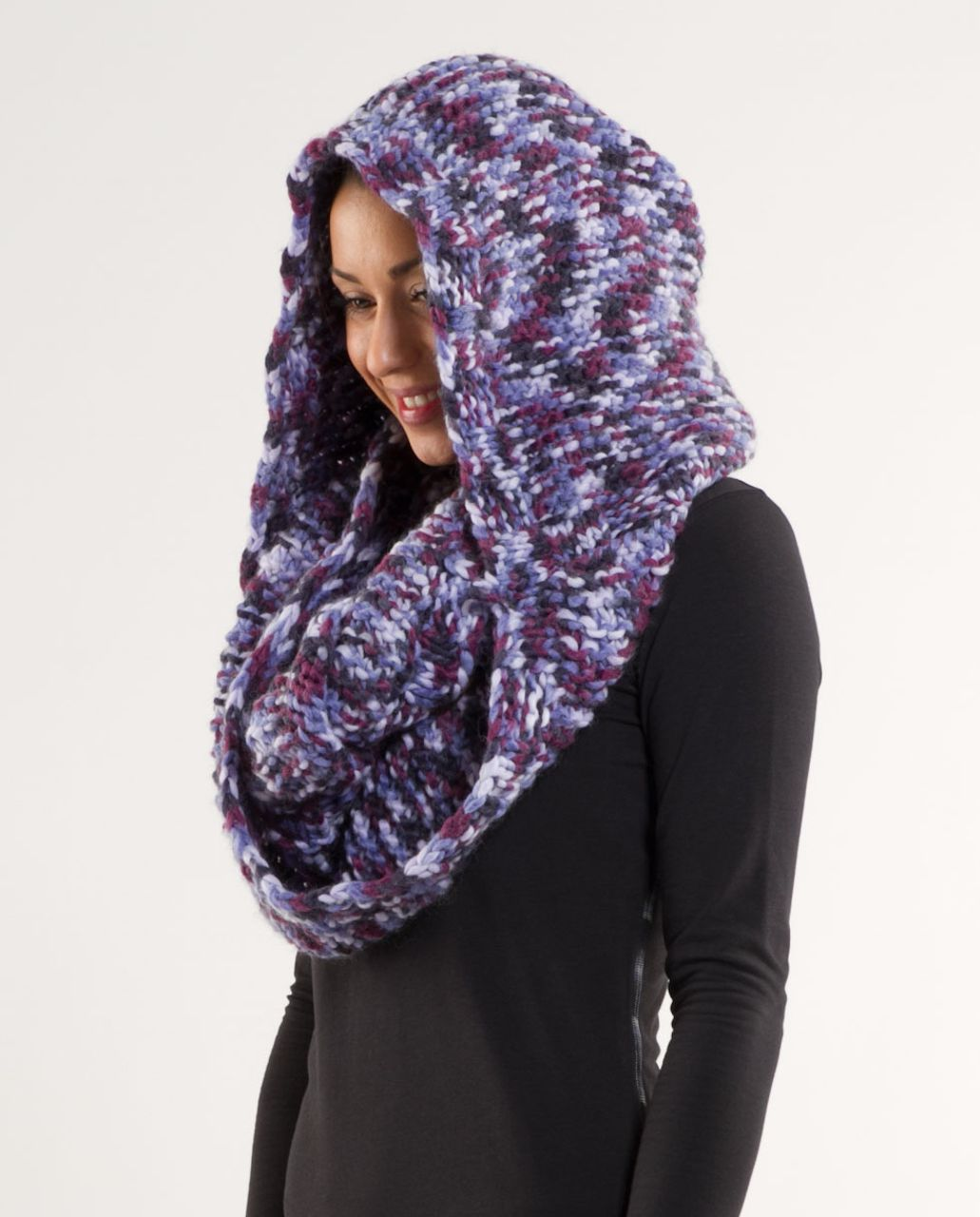 Lululemon Hickey Hider - Black Swan Lilac Persian Purple Plum Space Dye