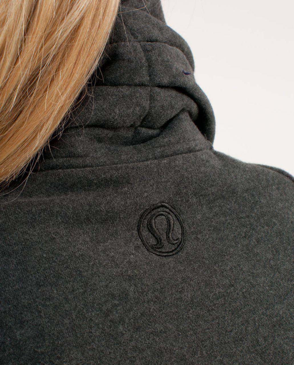 Lululemon Cuddle Up Jacket - Heathered Deep Coal