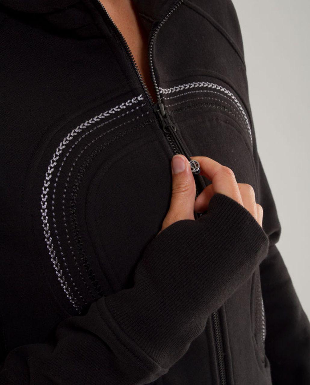Lululemon Cuddle Up Jacket - Black (White Trim)
