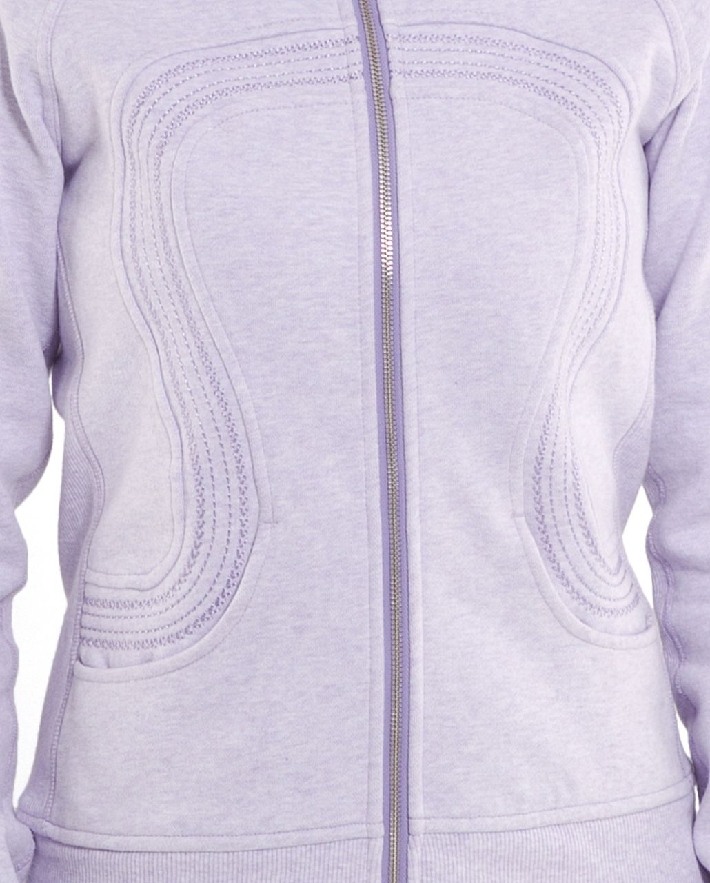 Lululemon Cuddle Up Jacket - Heathered Lilac