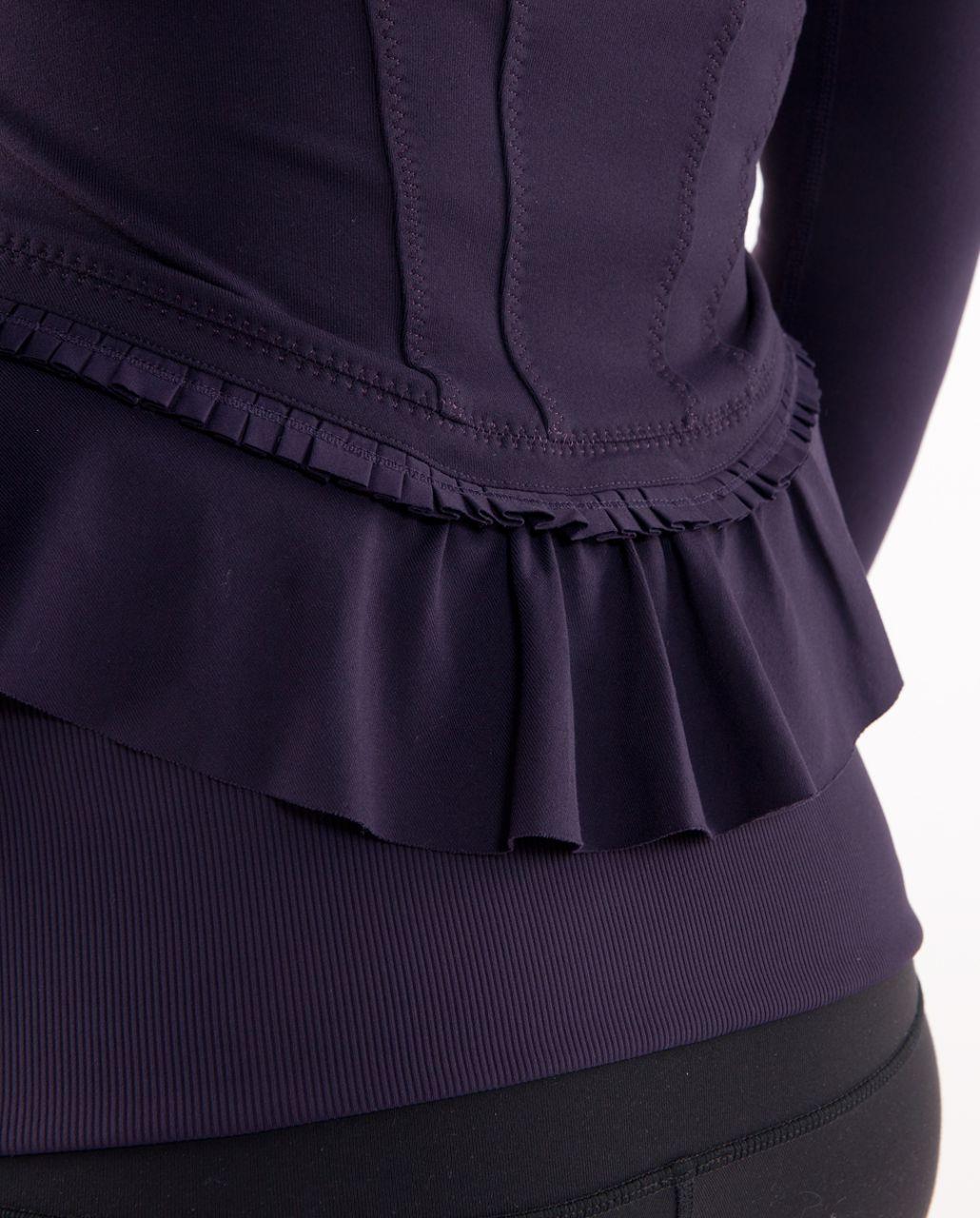 Lululemon City To Yoga Jacket - Black Swan