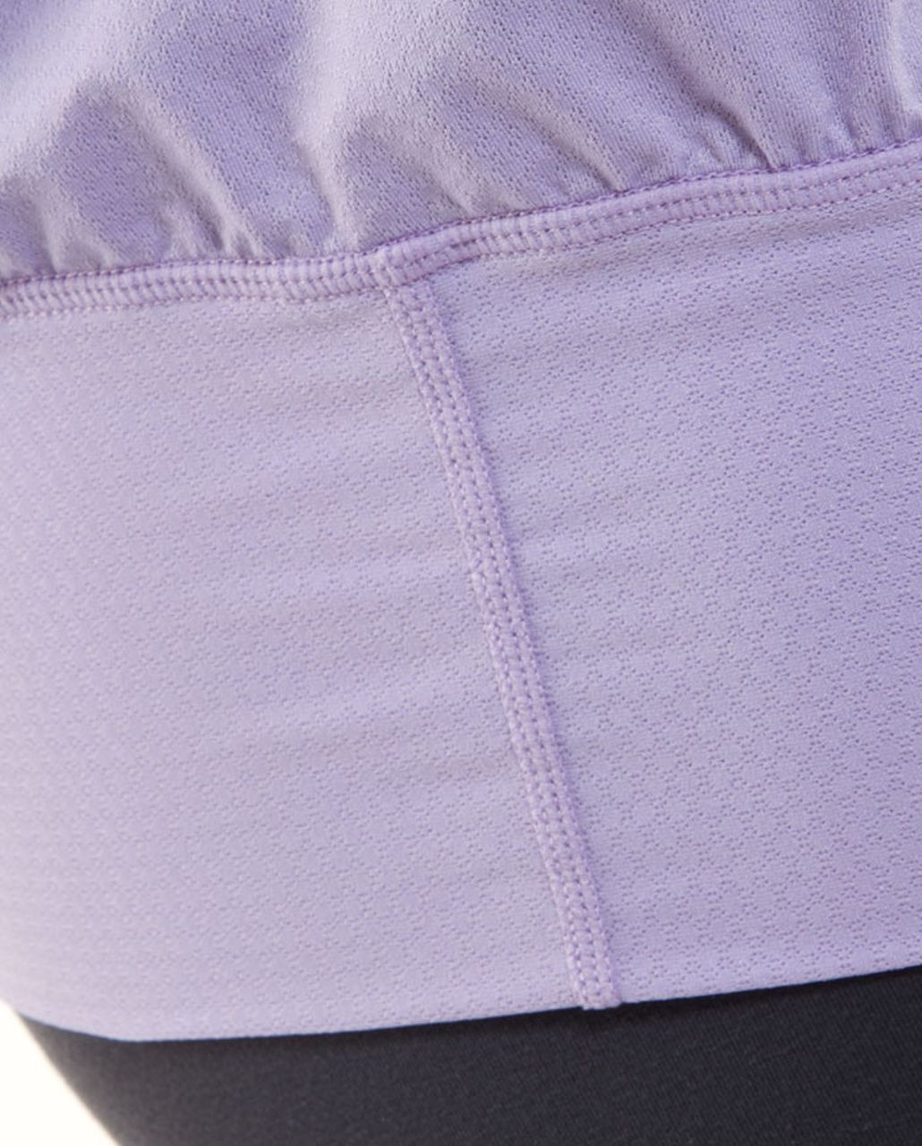 Lululemon No Limit Tank - Ivory /  Classic Sport Grey /  Lolo Purple