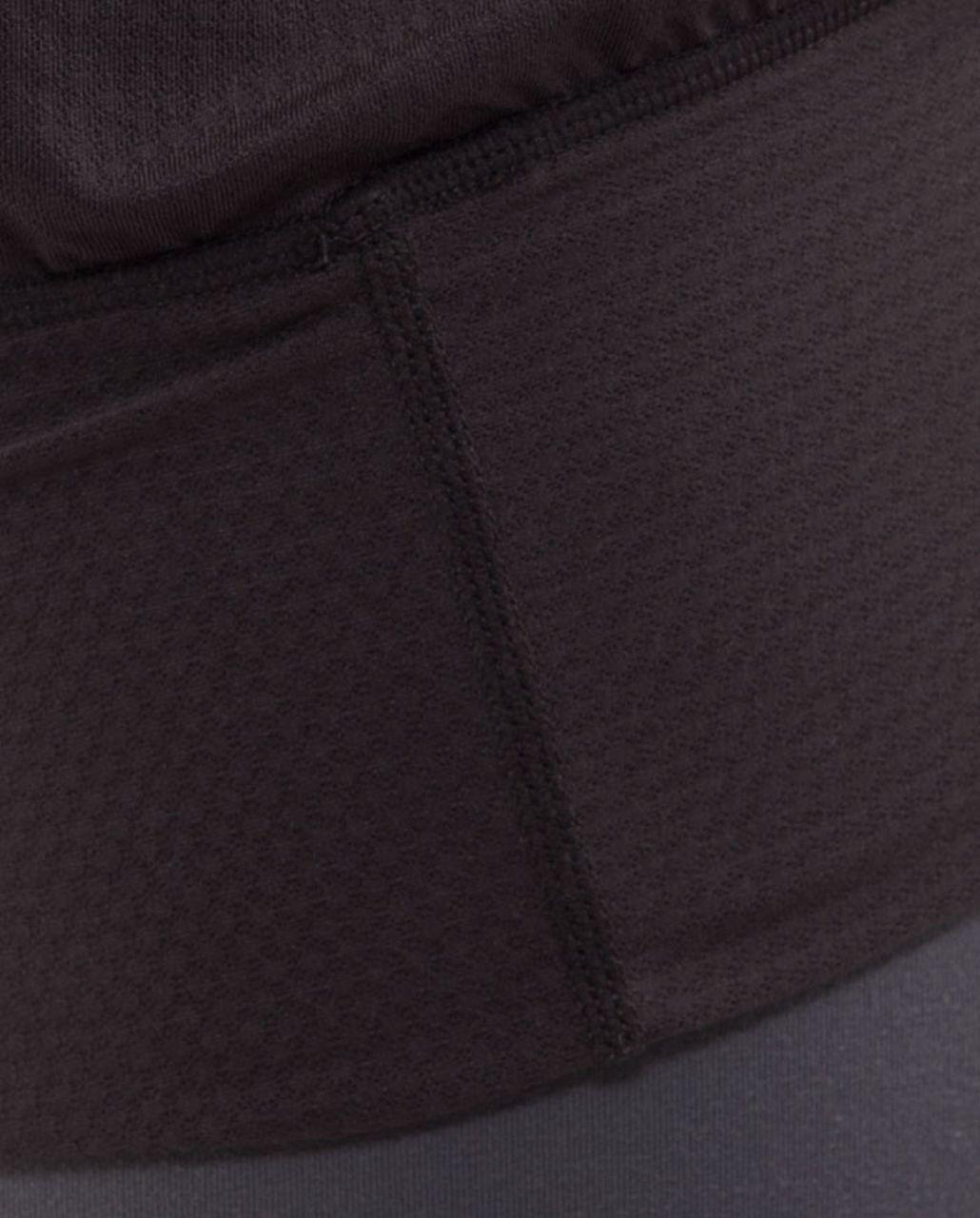 Lululemon No Limit Tank - Charcoal /  White Pinstripe