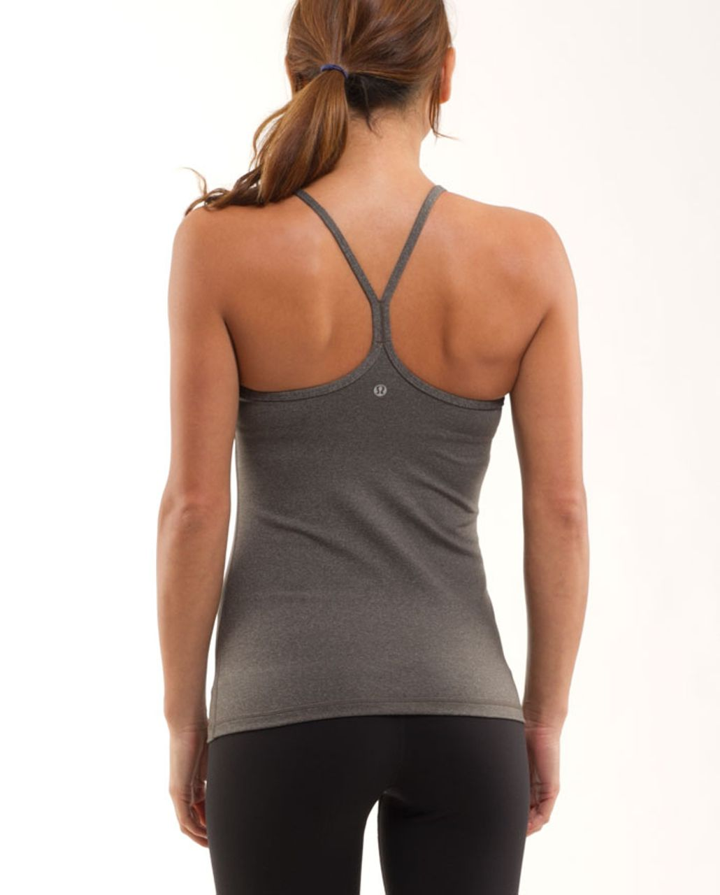 Lululemon Power Y Tank - Heathered Wren