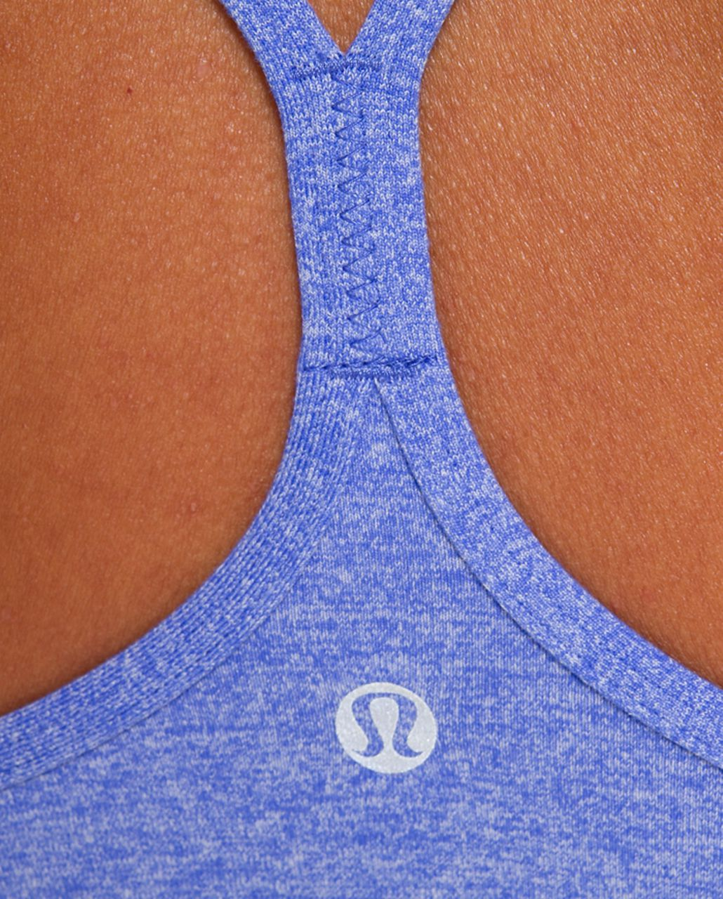 Lululemon Power Y Tank - Heathered Rocksteady