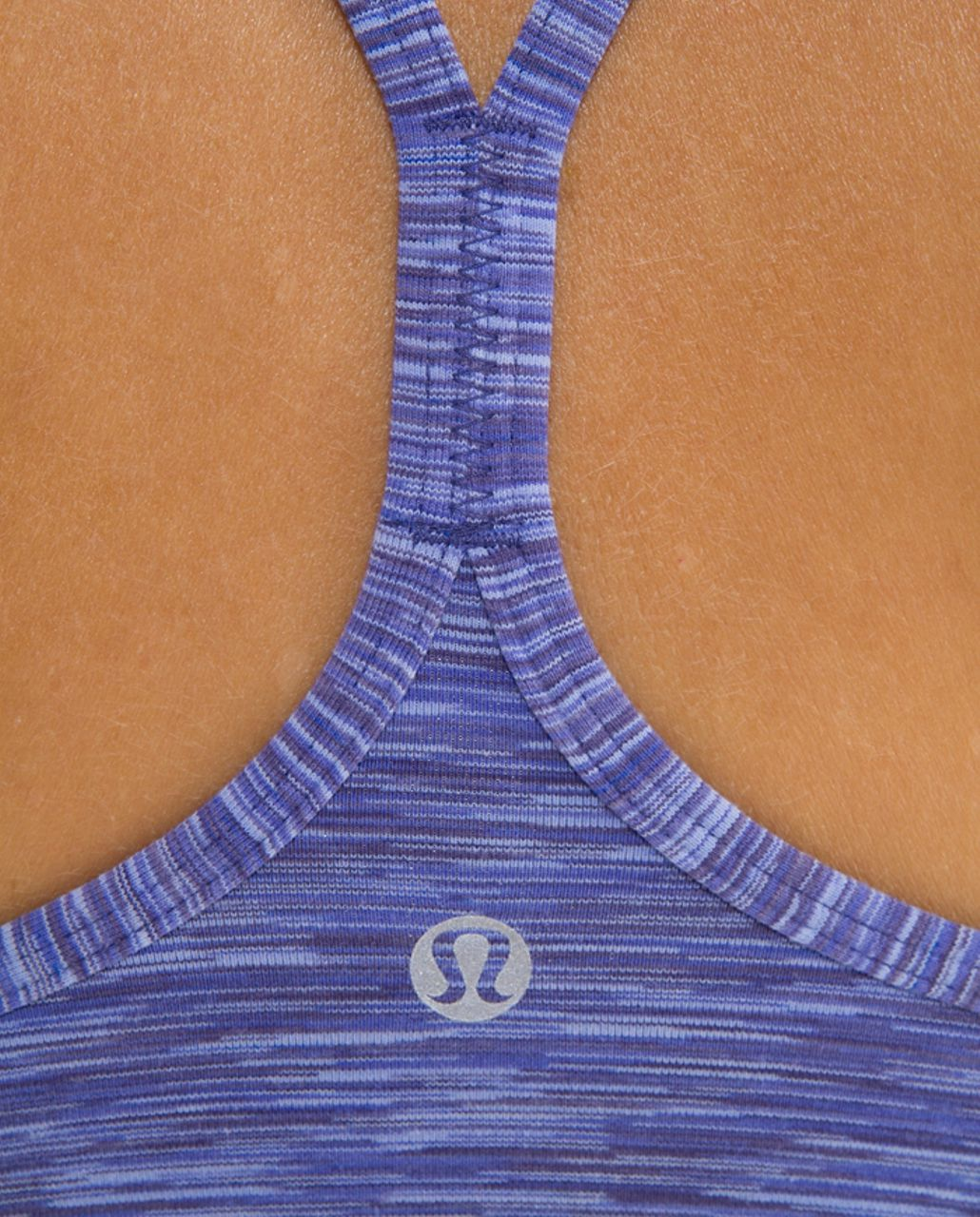 Lululemon Power Y Tank - Royalty Space Dye