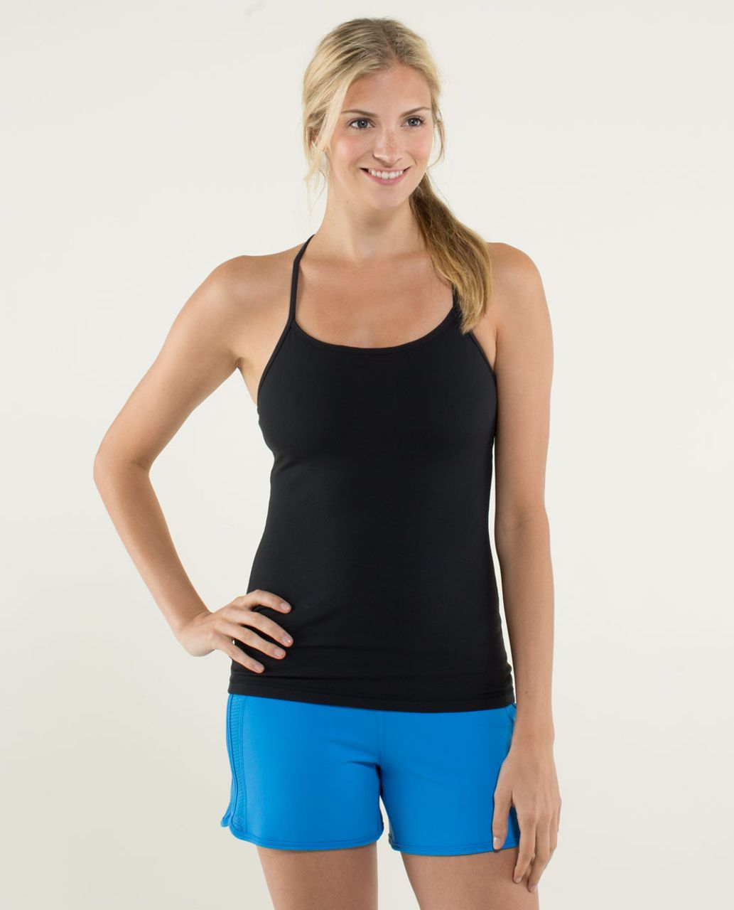 Lululemon Power Y Tank - Black (First Release)