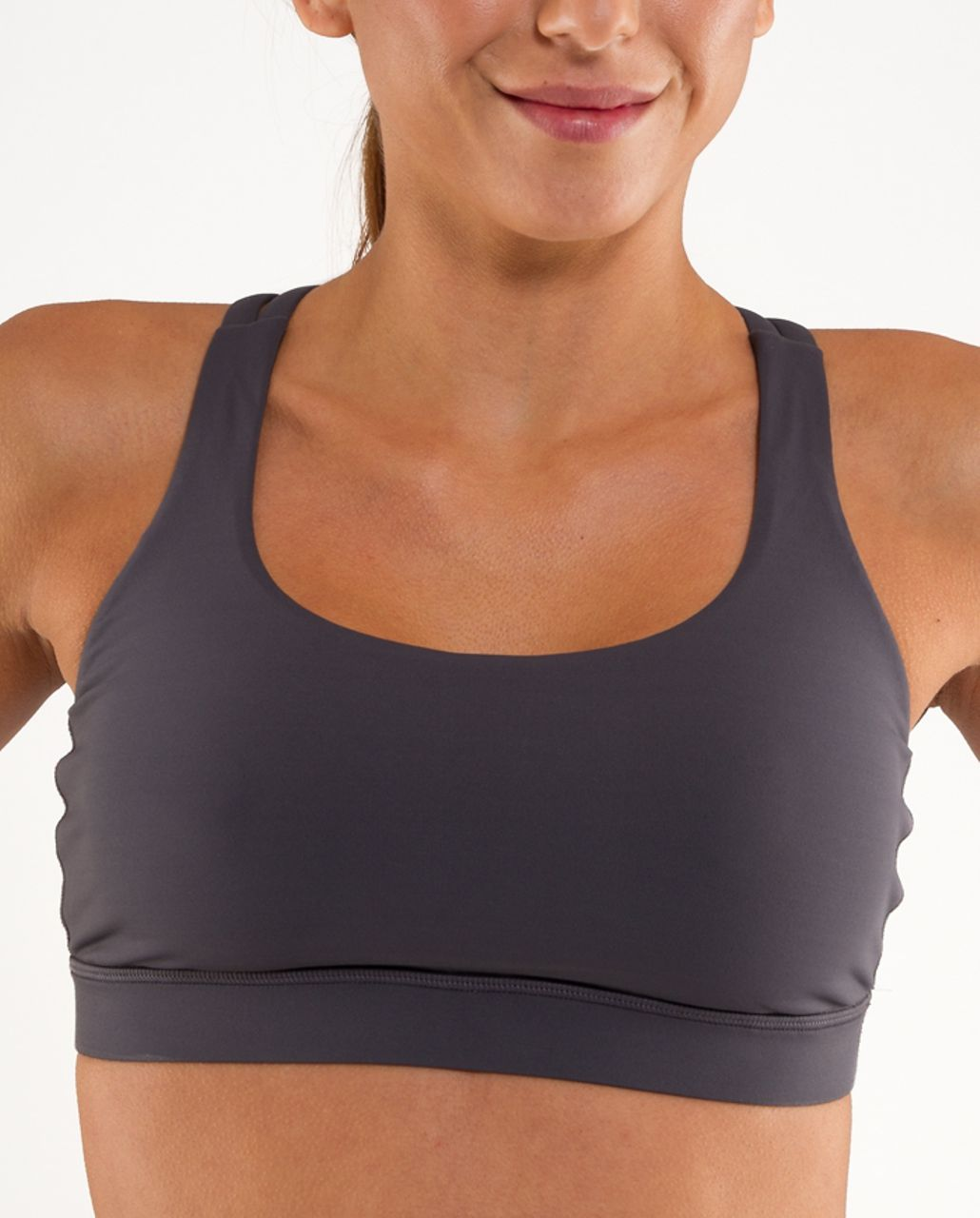 Lululemon Energy Bra - Coal