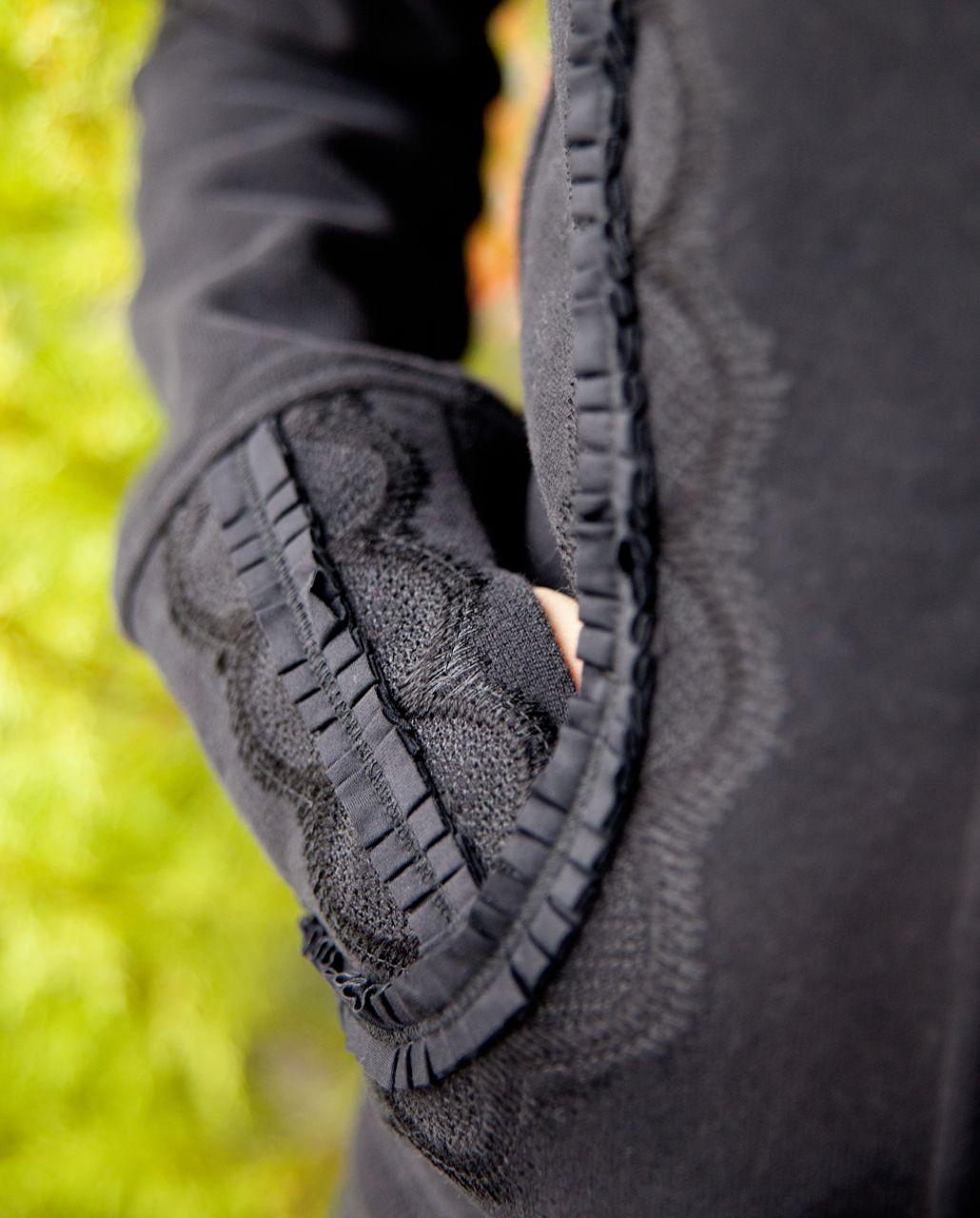 Lululemon Cuddle Up Jacket *Ruffle - Black