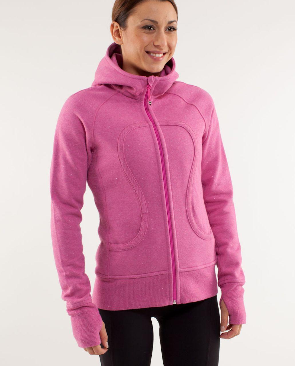 Lululemon Scuba Hoodie *Sparkle - Heathered Paris Pink /  Paris Pink