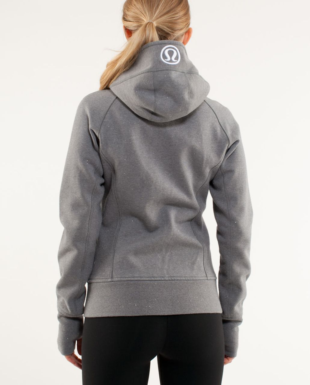 Lululemon Scuba Hoodie *Sparkle - Heathered Blurred Grey /  Blurred Grey