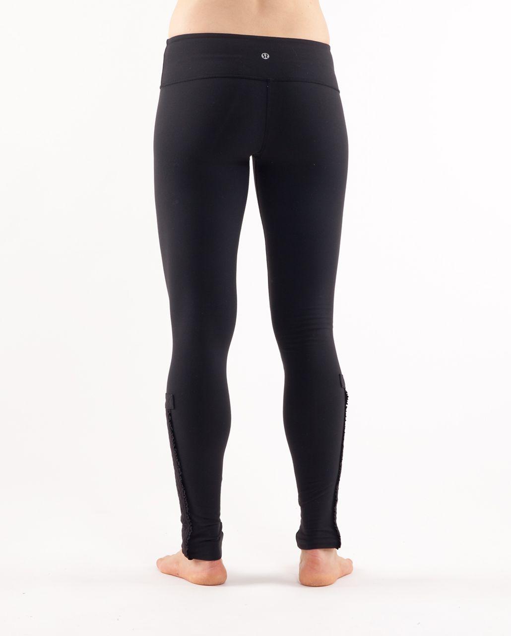Lululemon Wunder Under Pant *Quilted - Black