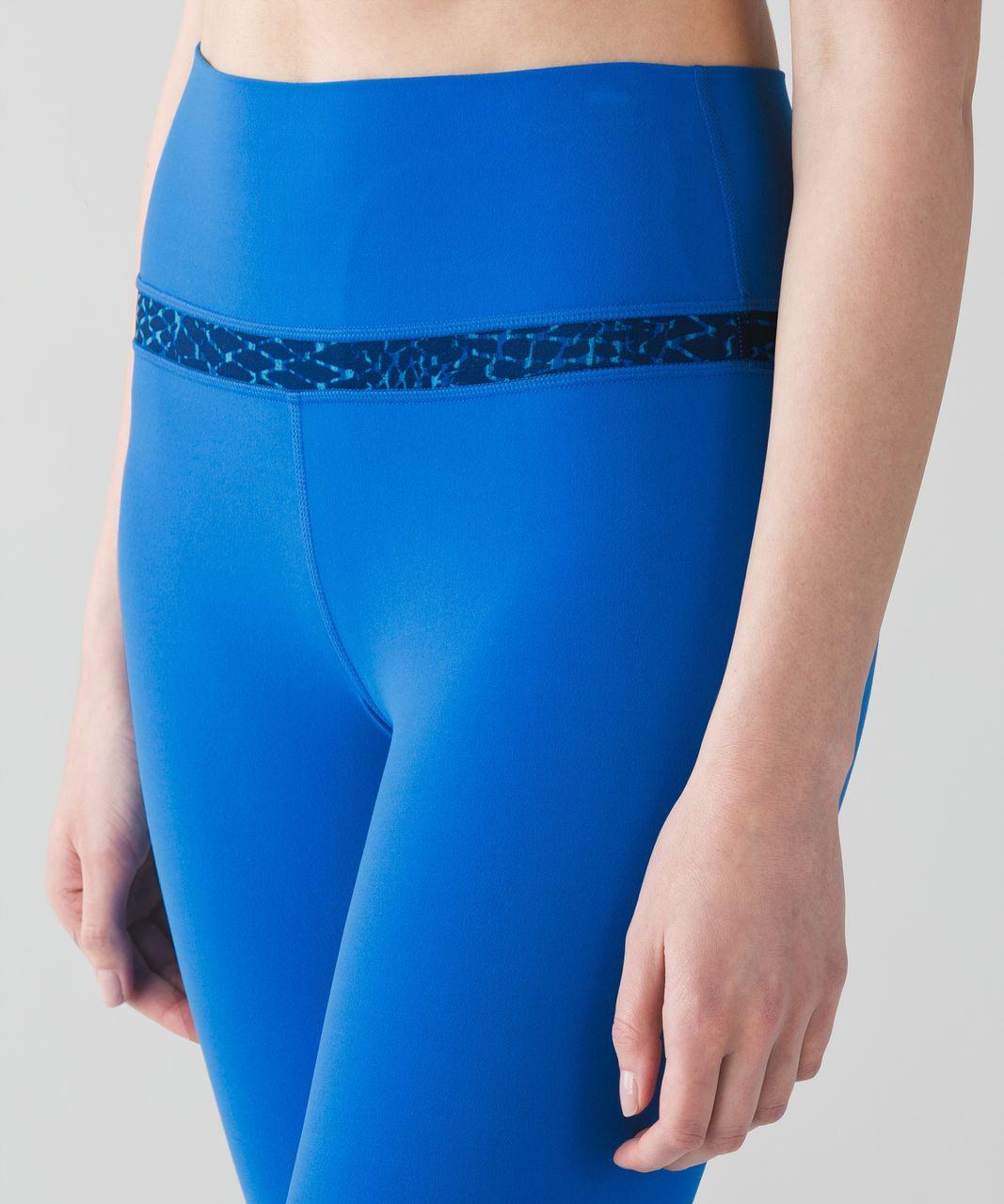 Lululemon Align Pant - Lakeside Blue / Samba Snake Kayak Blue Hero Blue