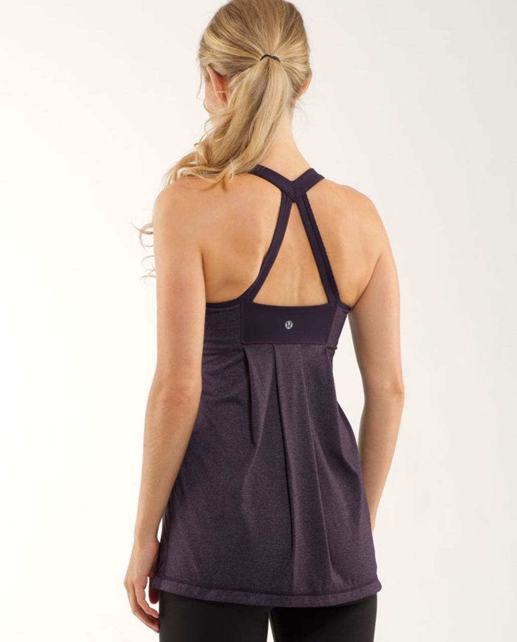 Lululemon Power Technique Tank - Black Swan