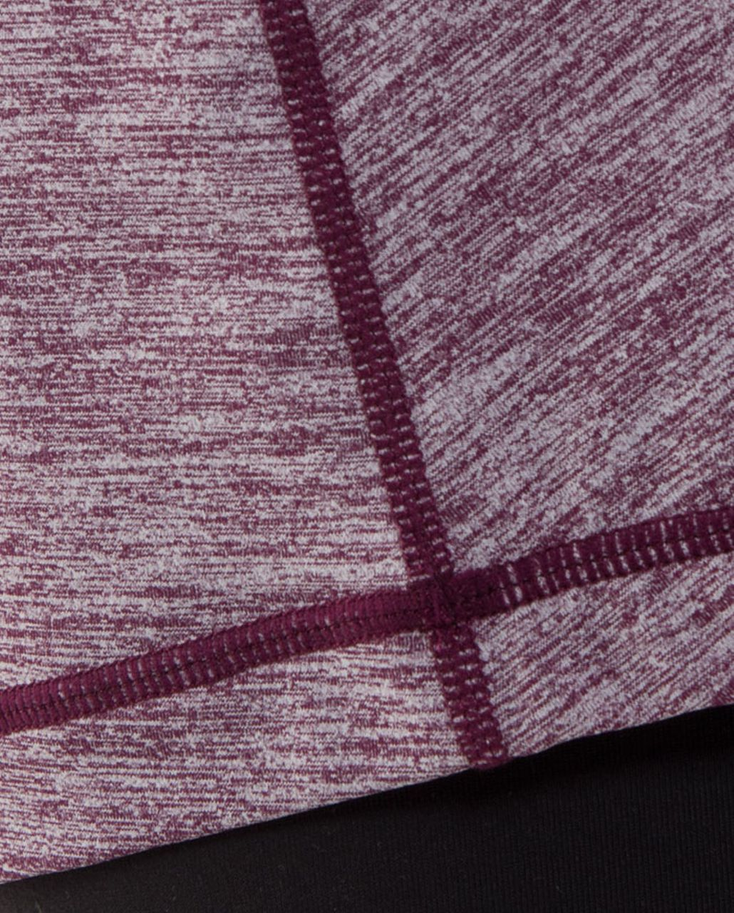 Lululemon Active Strength Tank - Heathered Plum /  Plum