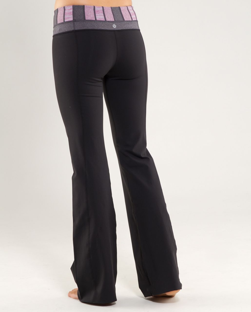 Lululemon Groove Pant (Tall) - Black /  Quilt 20 /  Heathered Coal