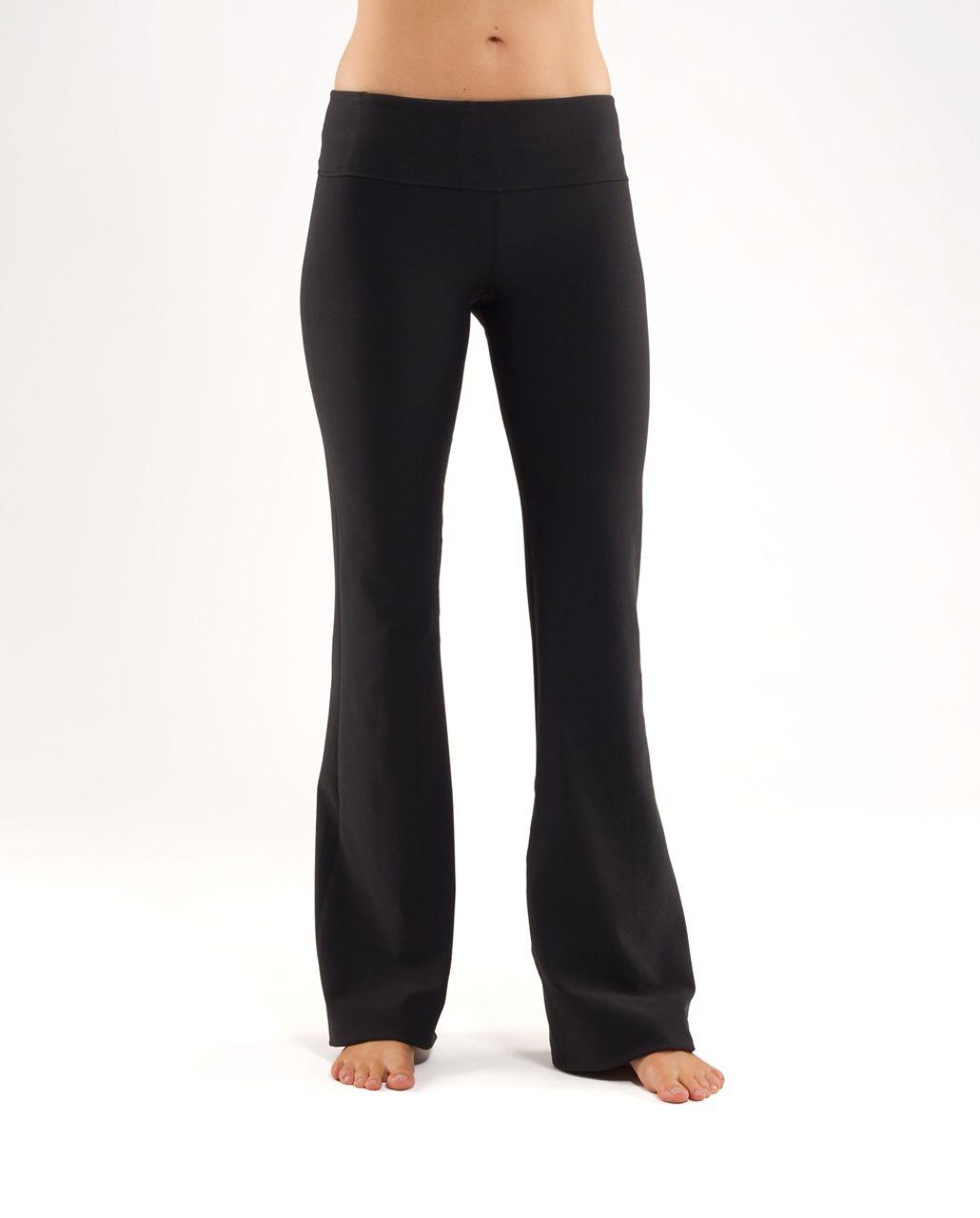 Lululemon Groove Pant (Tall) - Black /  Black Nesting Black Bird Print