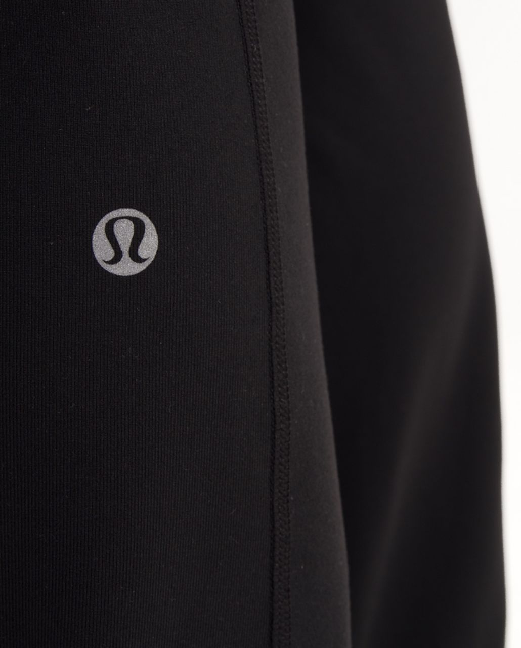 Lululemon Groove Pant (Tall) - Black /  Silver Pitter Patter Reflective