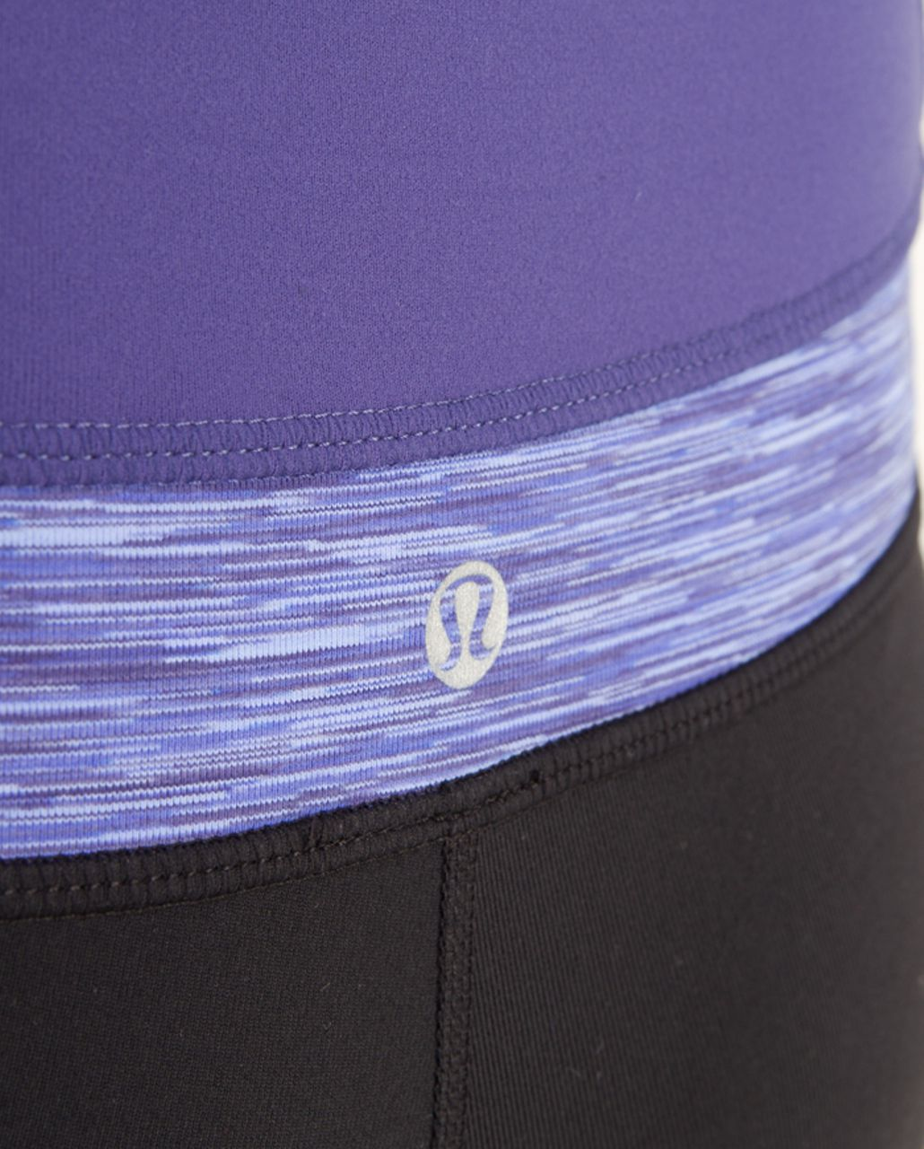 Lululemon Groove Pant (Tall) - Black /  Royalty /  Royalty Space Dye