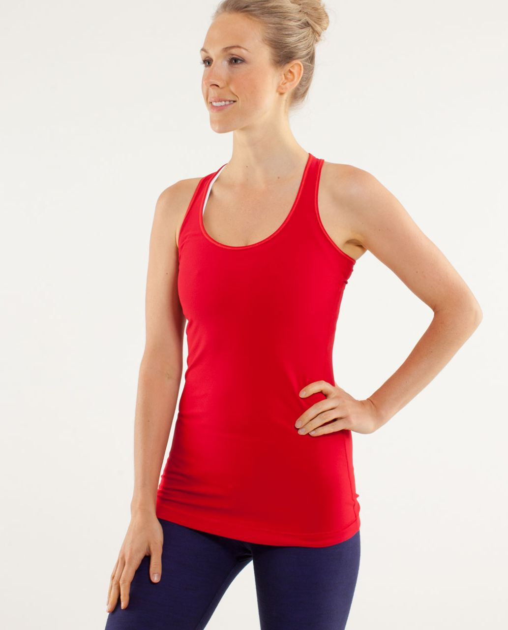 Lululemon Cool Racerback - Currant