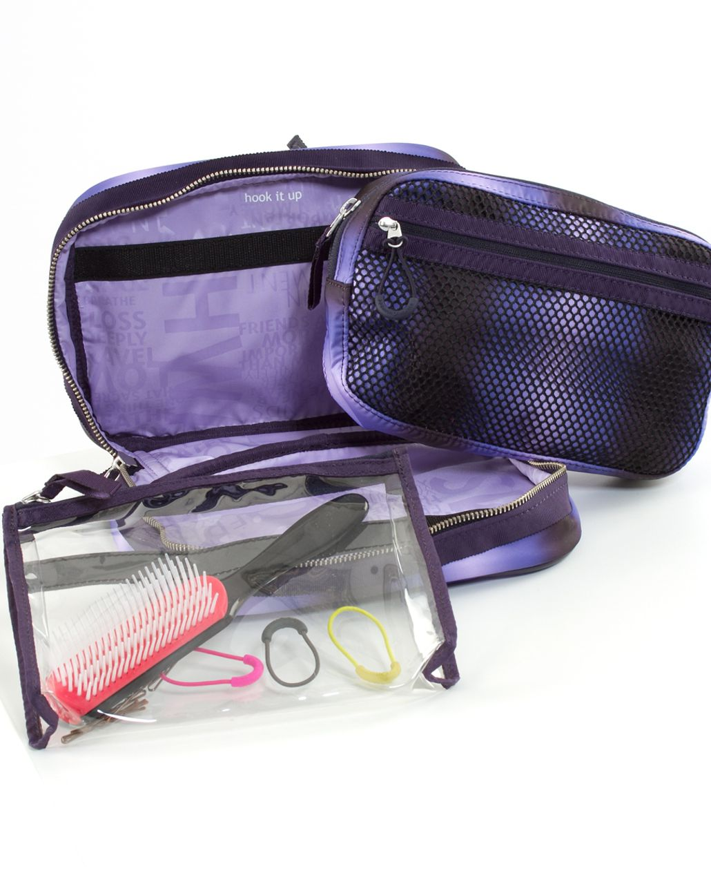 Lululemon Gym Essentials Kit - Black Swan Persian Purple Lilac Gradient