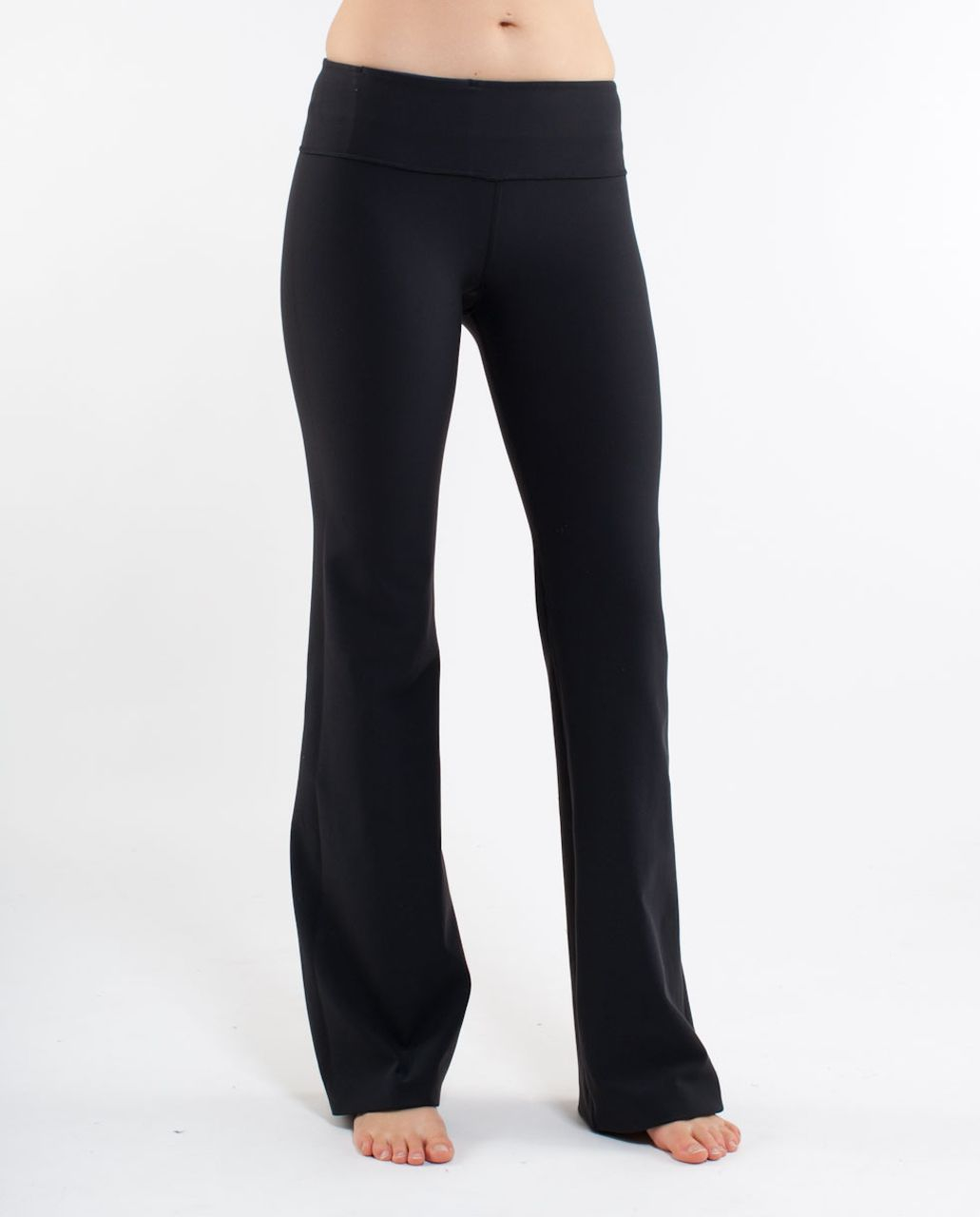 Lululemon Groove Pant (Regular) - Black /  Elevation Space Dye