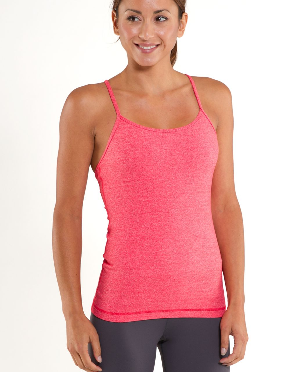 Lululemon Power Y Tank (First Release) - Currant