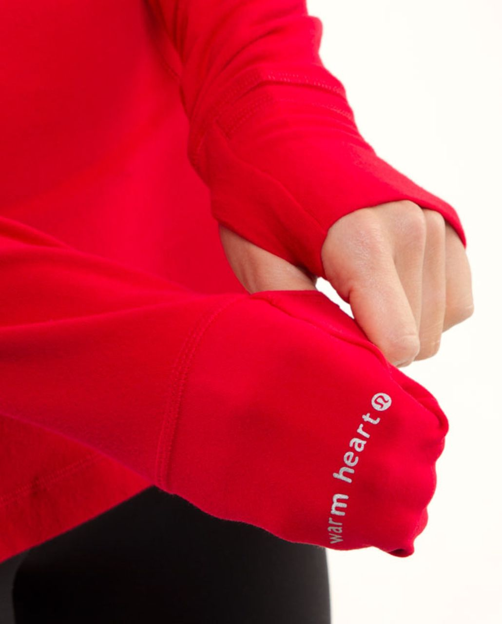 Lululemon Run:  Your Heart Out Pullover - Currant