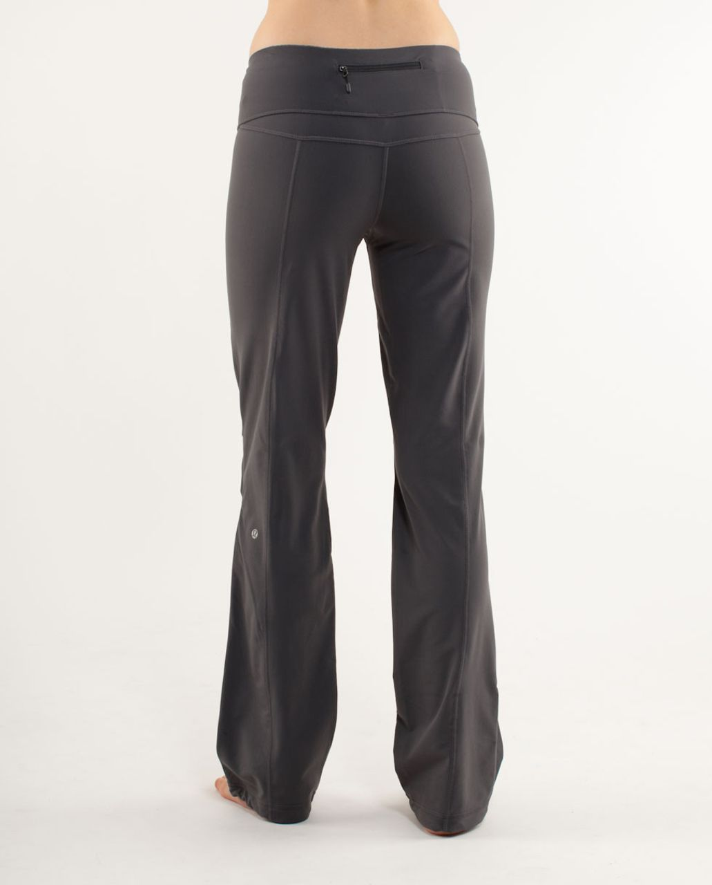Lululemon Run:  Free Pant - Coal /  Heathered Coal
