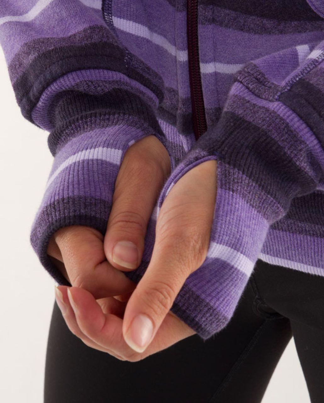 Lululemon Scuba Hoodie *Stripe - Purples Ombre Stripes