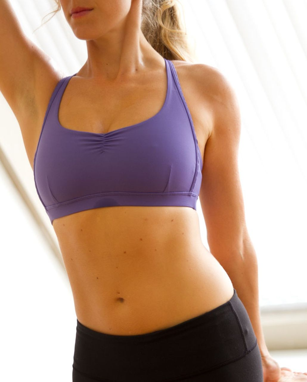Lululemon Hot 'N Sweaty Bra - Persian Purple