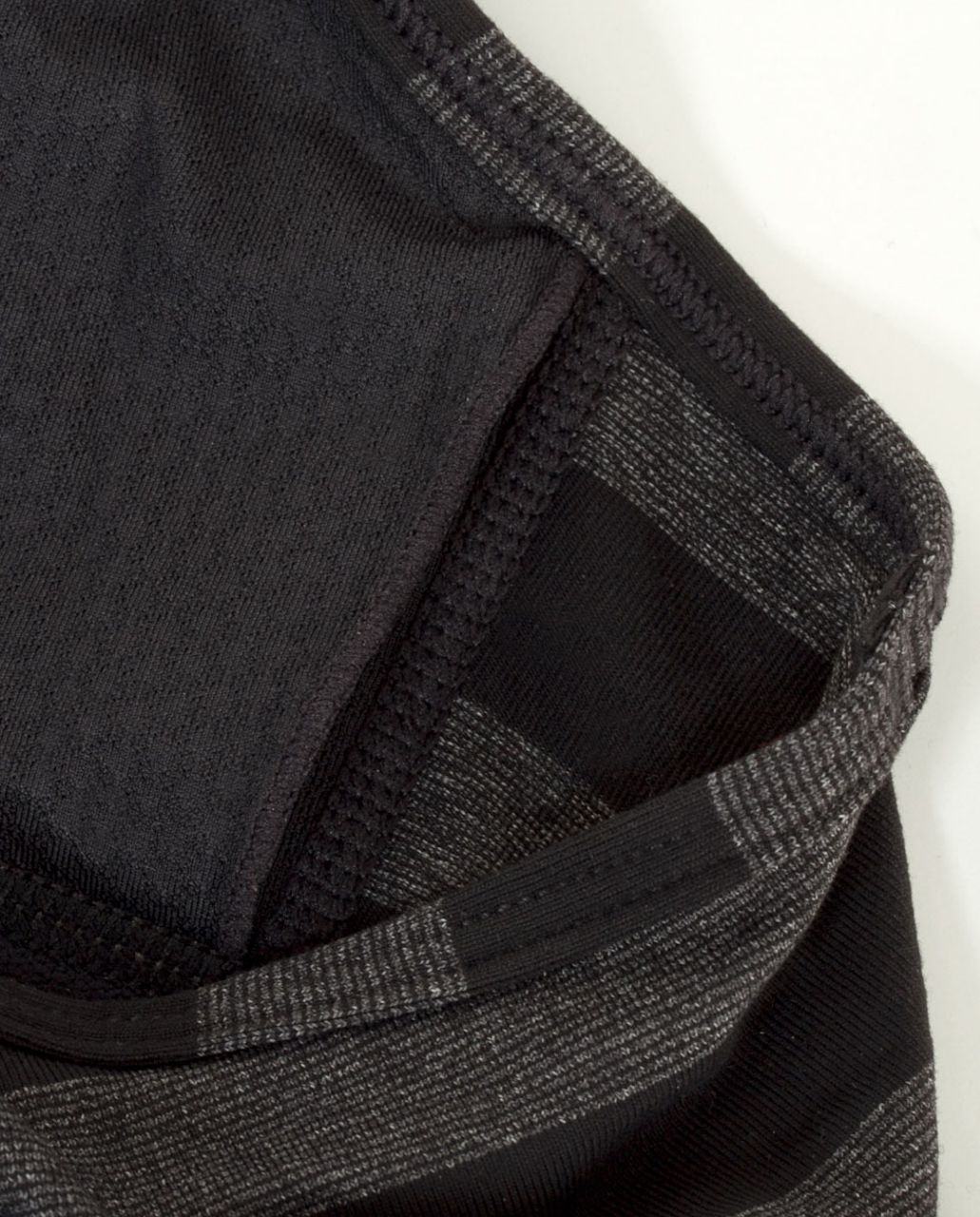 Lululemon No Limit Tank - Black /  Black Black Micro Macro Stripe