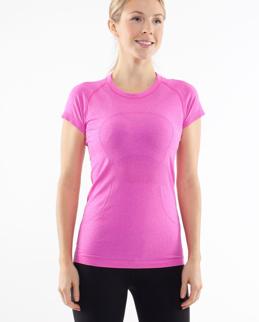 Lululemon Run:  Swiftly Tech Short Sleeve - Paris Pink