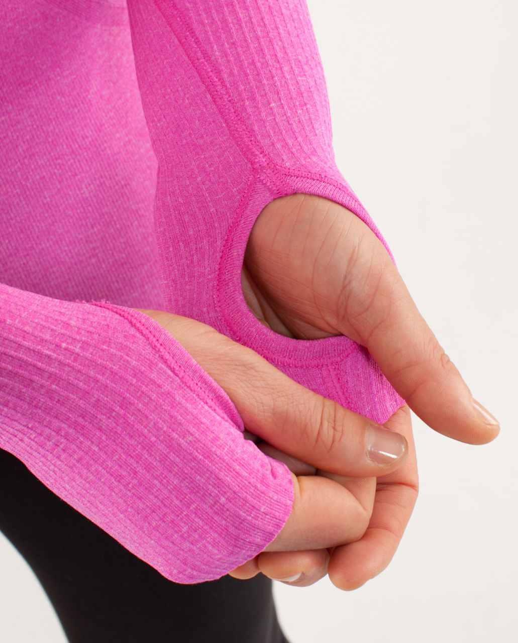 Lululemon Run:  Swiftly Tech Long Sleeve - Paris Pink