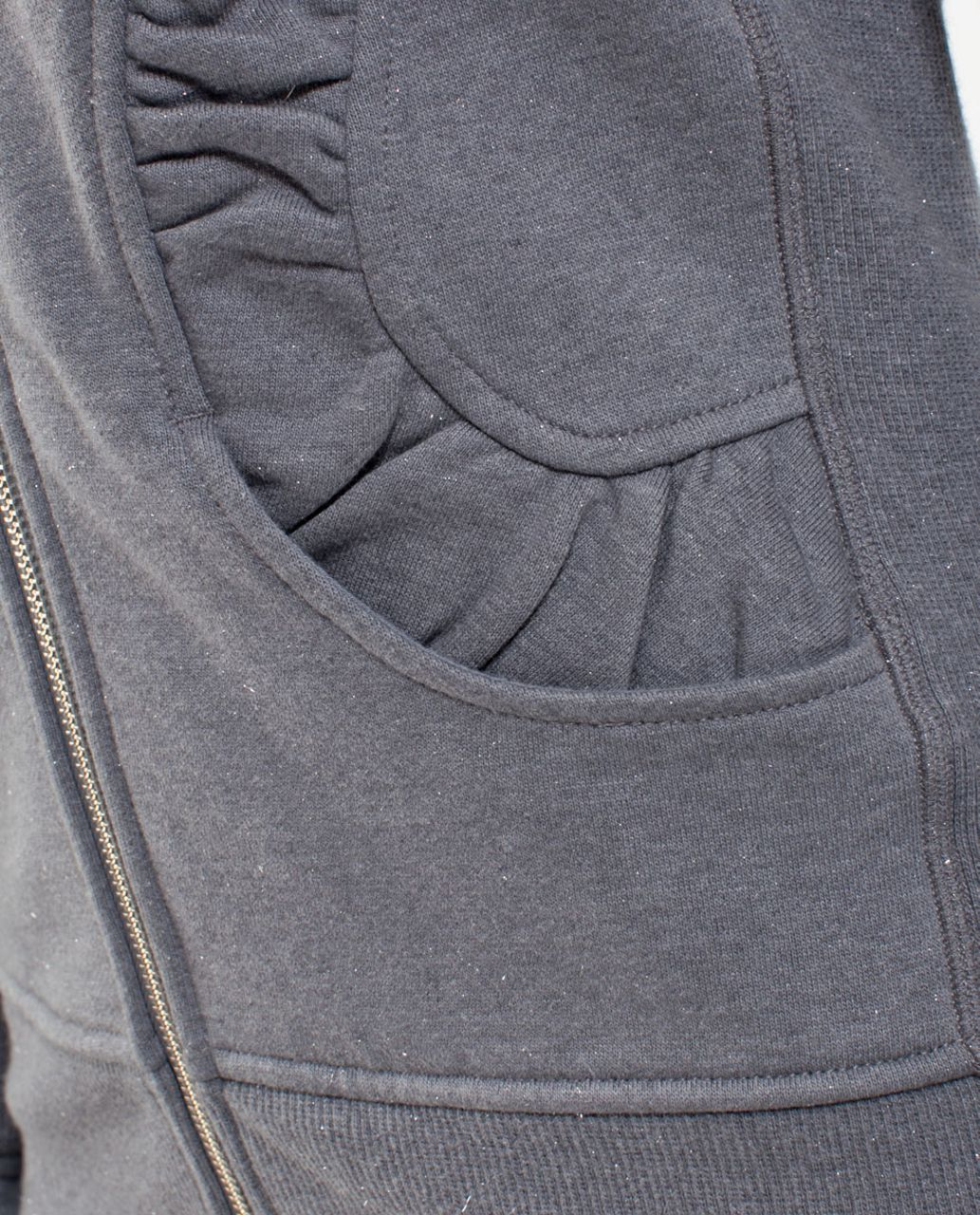 Lululemon Cuddle Up Jacket - Heathered Blurred Grey /  Blurred Grey