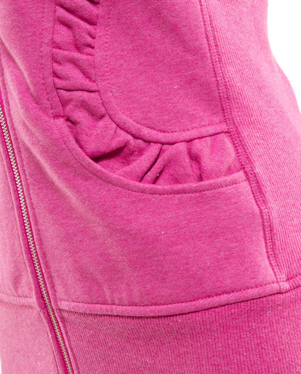 Lululemon Cuddle Up Jacket - Heathered Paris Pink /  Paris Pink