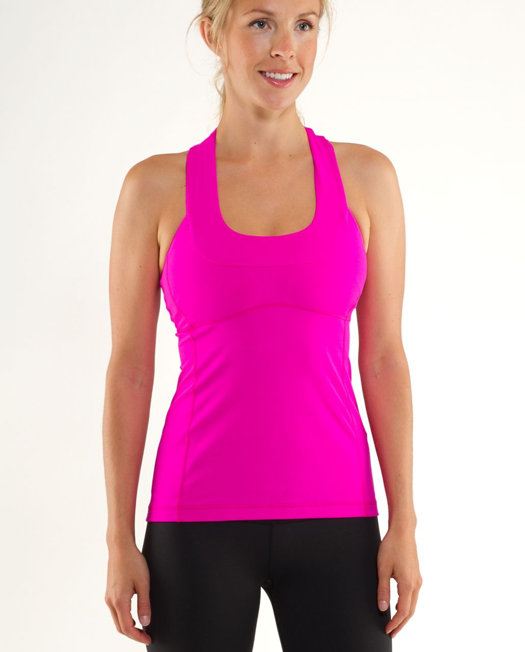 Lululemon Scoop Neck Tank - Paris Pink