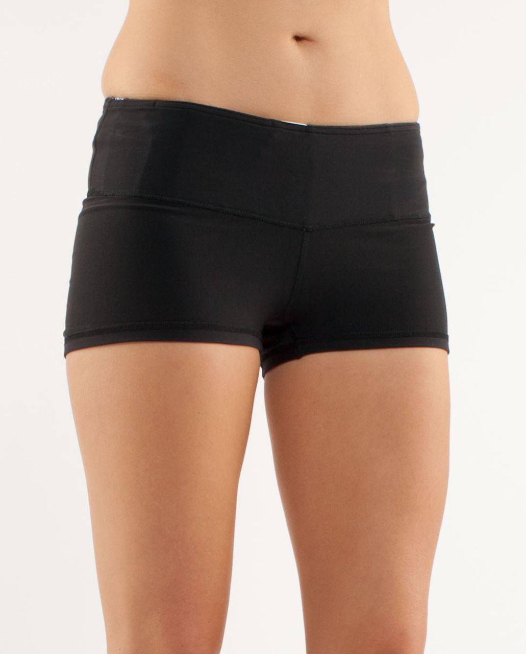Lululemon Boogie Short - Black /  Quilting Winter 16
