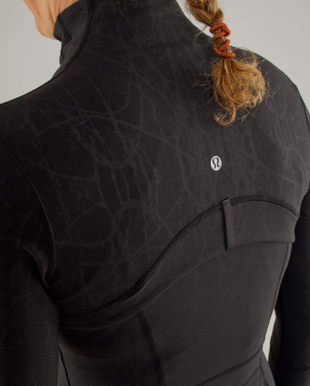 Lululemon Define Jacket - Black Nesting Black Bird Embossed