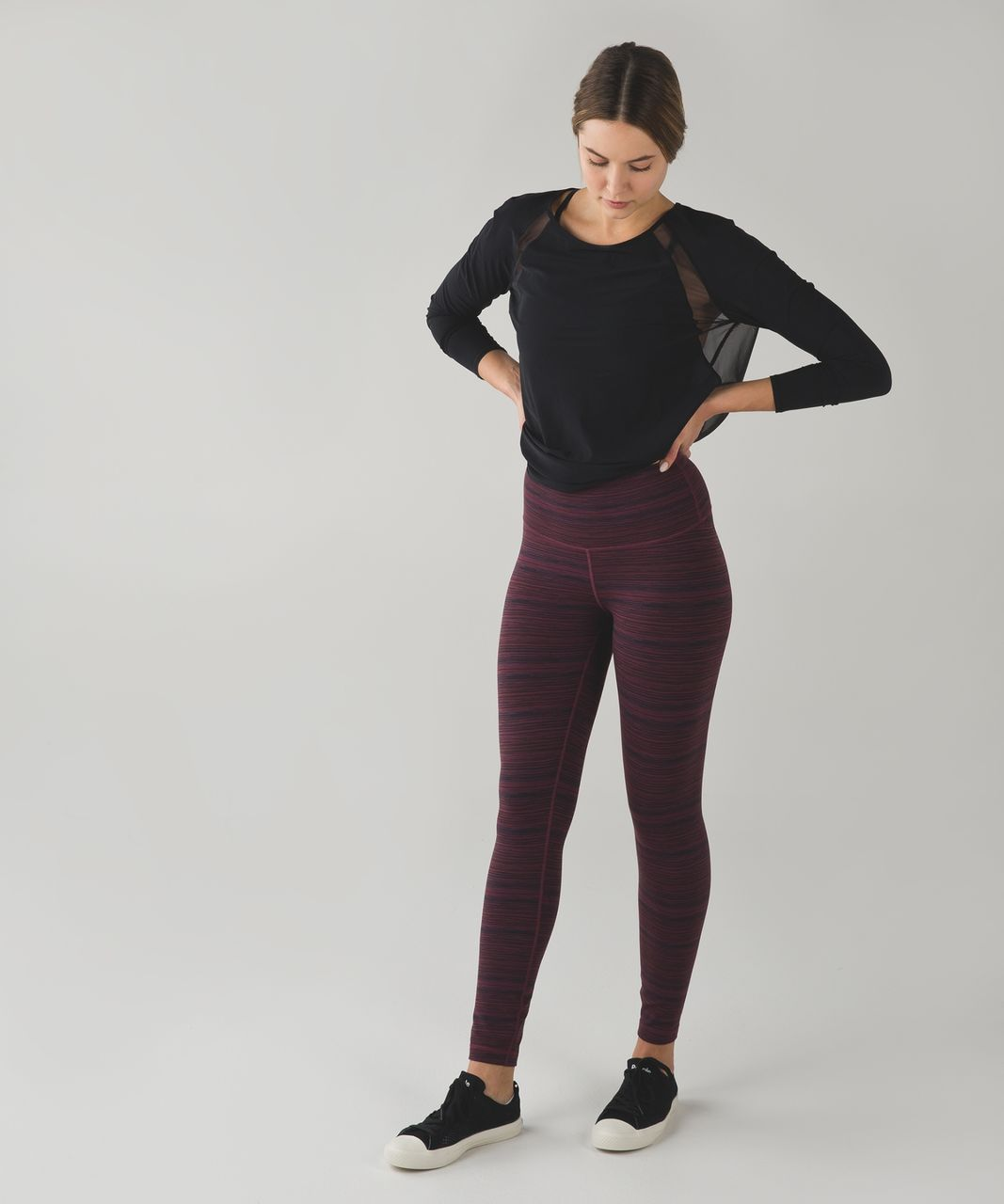 Lululemon High Times Pant - Cyber Red Grape Bordeaux Drama