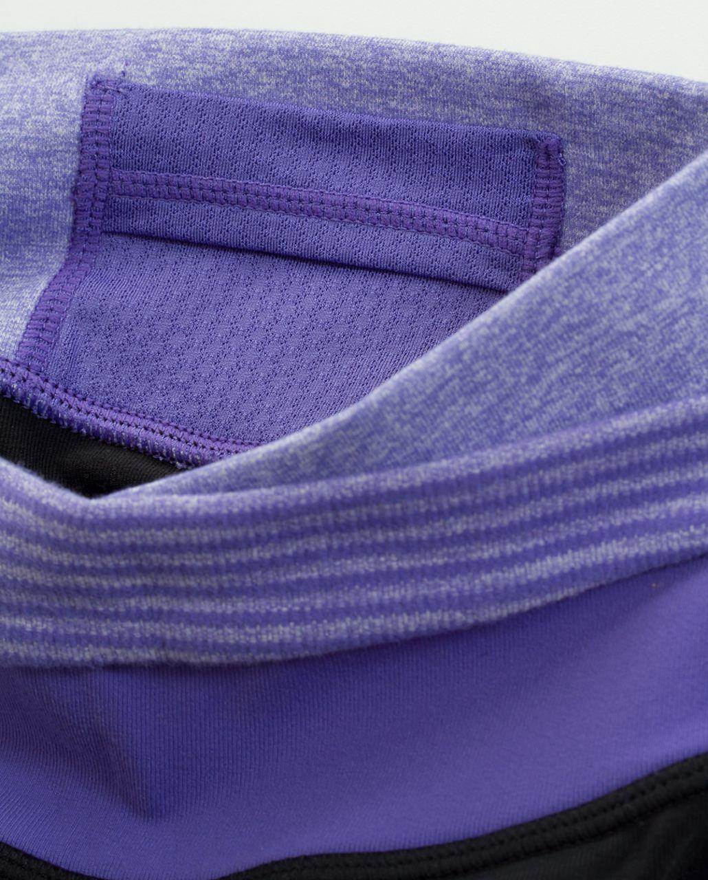 Lululemon Astro Pant (Tall) - Black /  Heathered Persian Purple /  Persian Purple Heathered Persian Mini Check