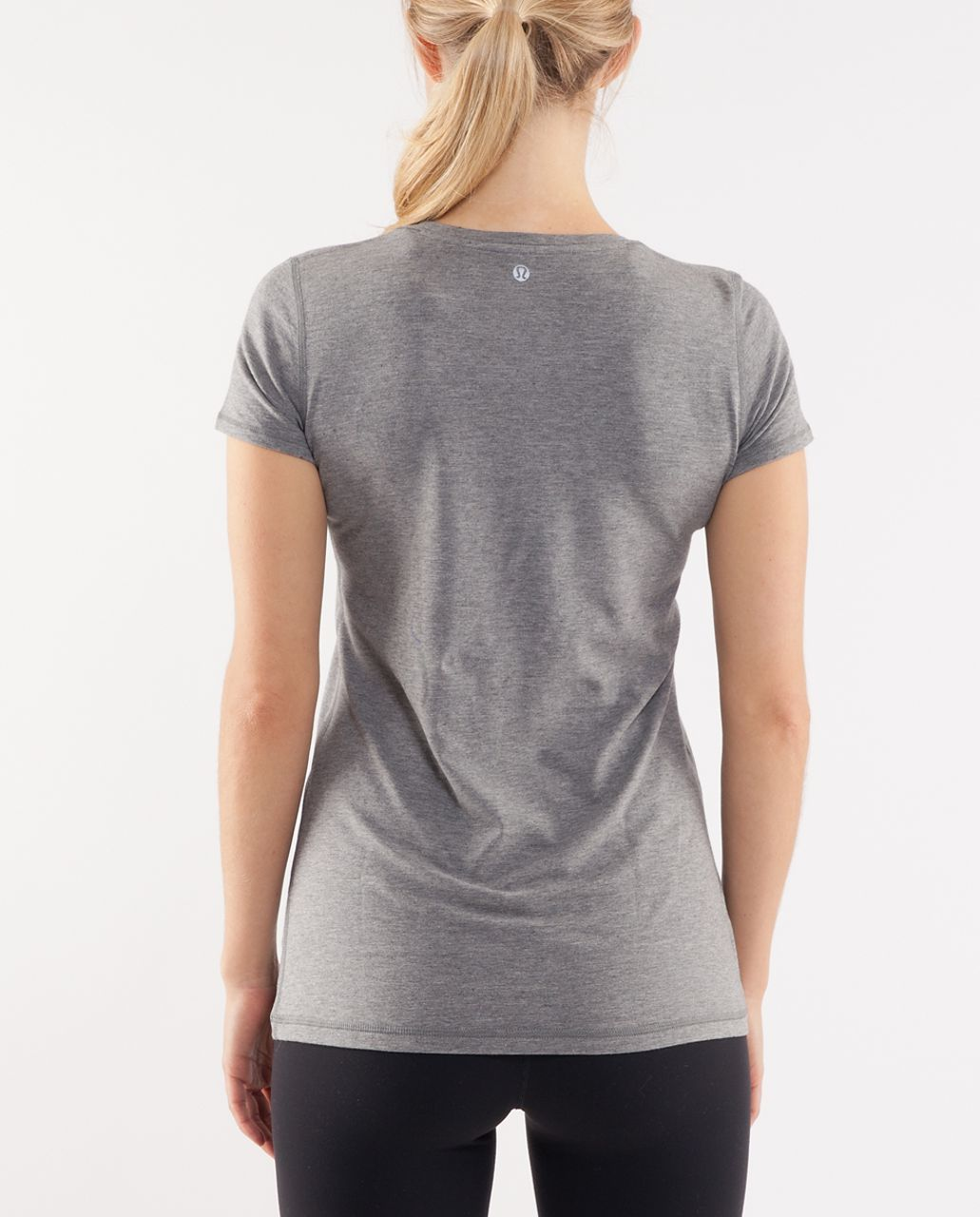 Lululemon Lively Crewneck Tee *Vitasea - Heathered Blurred Grey