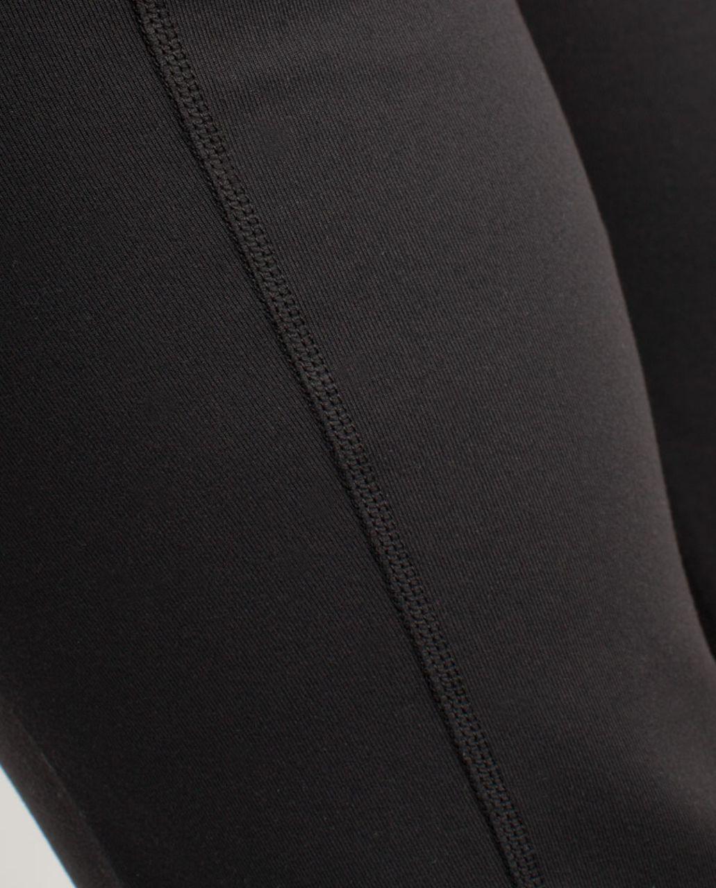 Lululemon Groove Pant (Regular) - Black /  White Black Glacier Lace /  White Black Glacier Lace